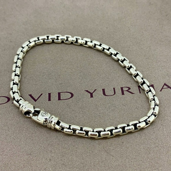 David Yurman Other - David Yurman Large Box Chain Bracelet, 5mm